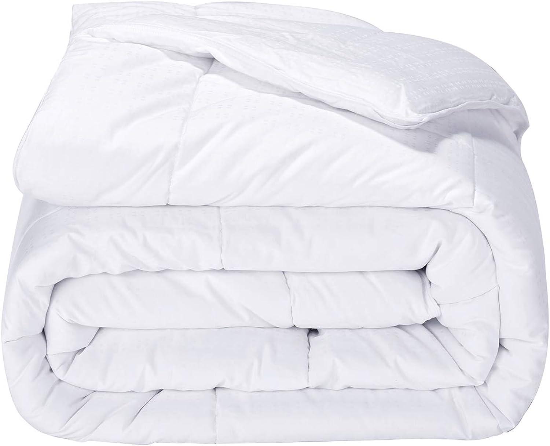 Puredown Alternative Comforter Duvet Insert 300 Thread Count Cotton Shell White Twin Twin X-Large