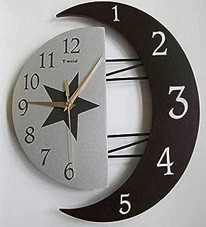 【ノーブランド】すごくオシャレな壁掛け時計 デザインウォールクロック Cool(クール)