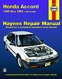 Honda Accord (90-93) Haynes Repair Manual