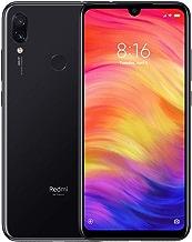 "Xiaomi Redmi Note 7 (64GB, 4GB) 6.3"" Display, 48MP + 5MP AI Dual Rear Camera, Global 4G LTE Dual SIM GSM Factory Unlocked (International Model w/ 64GB MicroSD Bundle) (Black)"