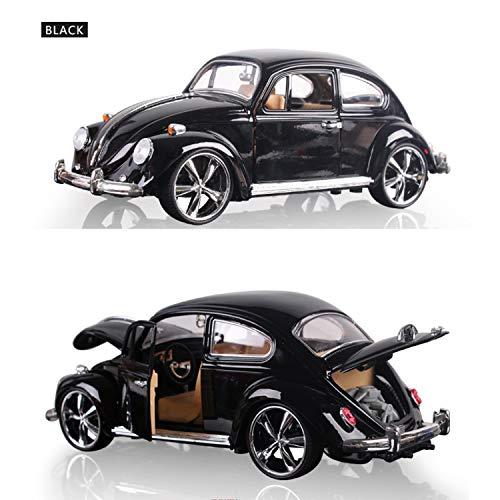 CGY modelauto kever met terugtrekveheersbeestje modelauto 1:32 met deuren en motorkap voor het openen klaar model