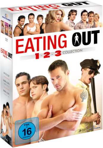 Eating Out 1-3 Collection Box - 3 DVD (OmU)