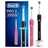 Oral-B Pro 2 2950N CrossAction Brosse À Dents Électrique x2