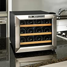 192 Bottles Wine Refrigeration Electronic Storage with Stainless Steel Ainfox 72 Built-in or Freestanding Wine Cooler