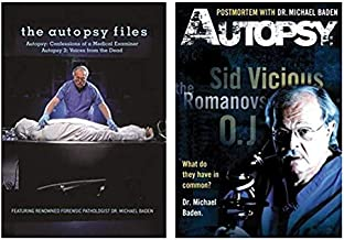 The Autopsy Files & Autopsy: Postmortem with Dr. Michael Baden - 2-Pack DVD Set