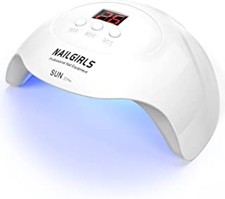 UVLEDライト ネイルライト 36W ジェルネイルライト 硬化ライト ネイルドライヤーライト レジン硬化 ledネイルドライヤー usb式充電 持ち運び便利 NAILGIRLS
