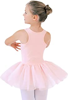 STELLE Ballet Leotard Tutu Dress for Girls Toddler Dance Skirt