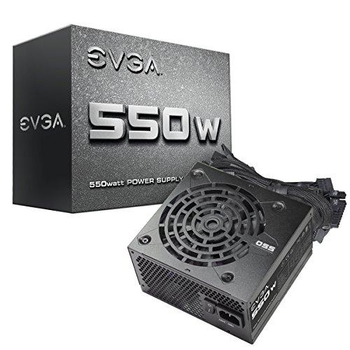 EVGA 100-N1-0550-L1 550 N1, 550W, 2 Year Warranty, Power Supply