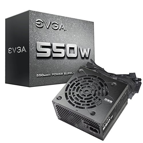 EVGA 550 N1, 550W, 2 Year, Power Supply 100-N1-0550-L1