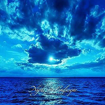 밤바다 풍경