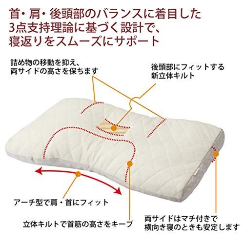 西川『東京西川ファインクオリティ備長炭パイプ枕(EFA2281211)』