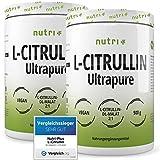TESTSIEGER L-Citrullin 2019 - L-CITRULLINE MALAT Pulver 1kg Vegan - höchste Dosierung & Reinheit - Bodybuilding Fitness - Malate DL 2:1 Powder - 1000g Aminosäurepulver