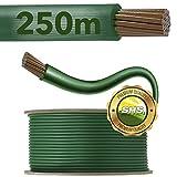 250m Begrenzungskabel für Mähroboter Rasenmäher Rasenroboter Zubehör SET Begrenzungsdraht für Suchkabel - kompatibel mit GARDENA/BOSCH/HUSQVARNA/WORX/HONDA/ROBOMOW/iMow / Ø2,7mm