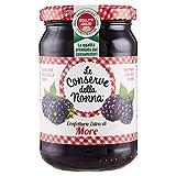 Le Conserve della Nonna Confettura Extra di More senza Pectina Aggiunta e con Zucchero di Canna - 340 g