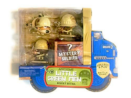Awesome Little Green Men 4 pc Starter Pack Series 2- Desert Detail Action Figure