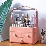 LZDMY Cajones de Almacenamiento Maquillaje Organizado,Portátil Caja de Almacenamiento Cosméticos...