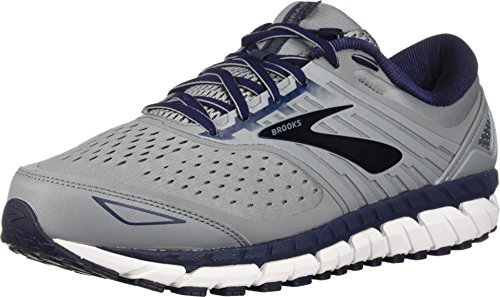 Brooks Men's Beast 18, Grey/Navy, 8.5 D US