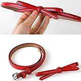KYEEY - Cinturón para mujer, diseño de moda, estilo retro, delgado, para vestir, pantalones y pantalones...