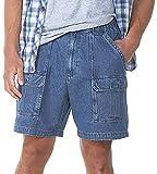 Savane Men's Hiking Shorts, Denim, 34