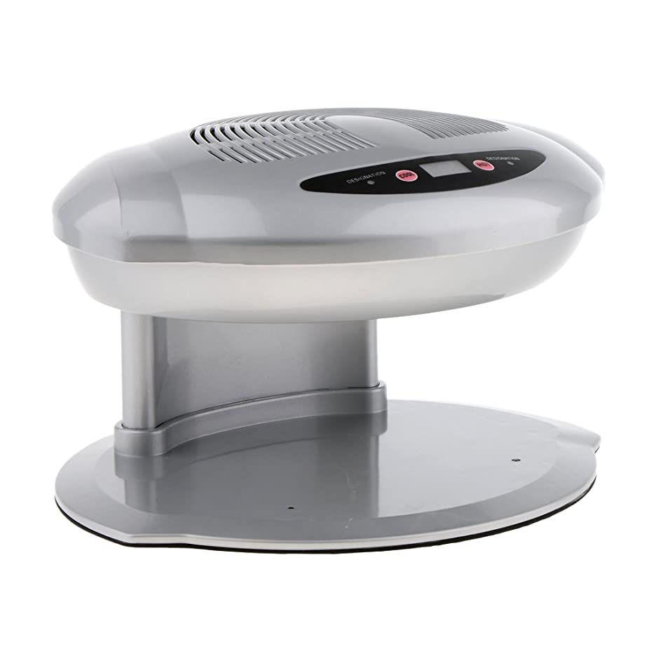 成人期節約余剰Perfeclan ネイルファン ブロードライヤー 空気 爪 乾燥機 プロ サロン 家庭用 自動的 滑り止め