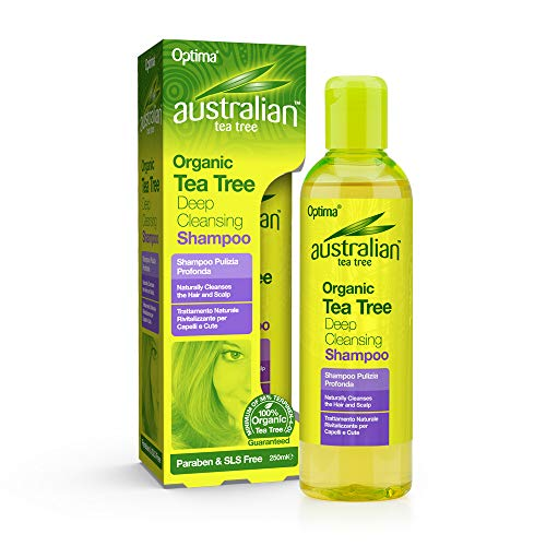 Australian Tea Tree Deep Cleansing Shamp, 250 ml