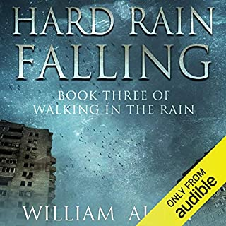 Hard Rain Falling audiobook cover art