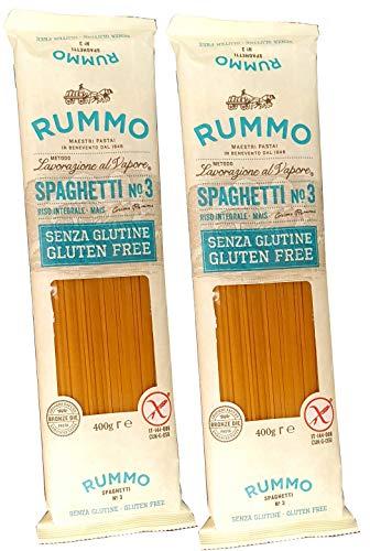 Glutenfreie Spaghetti Pasta Rummo - 2 Packungen x 400 gr