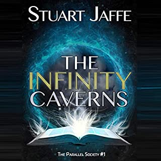 The Infinity Caverns audiobook cover art