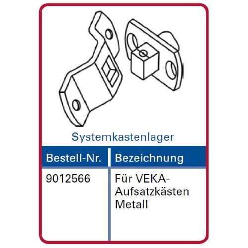 Simu Motorlager für T3.5 Rolladenmotor Systemkastenlager für VEKA Aufsatzkästen