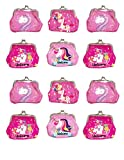 Unicorn Buckle coin purse with metal clasp Kiss-lock pouch bag