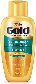 Gold Shampoo Óleo de Argan Pós Química, 300 ml, Niely