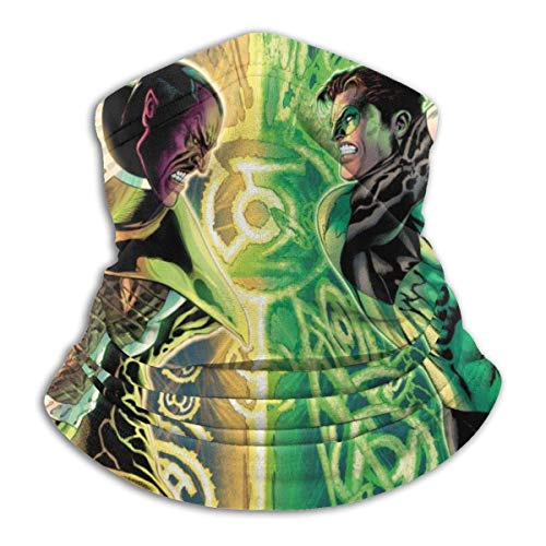 BaoBei-shop Green LAN-Tern Cover & Shield Face Cover Shield Protective Balaclava Men & Women - Face Cover Thermal Retention & Safety Face Decorations-G60