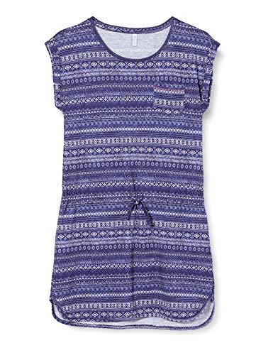 Sanetta Mädchen Strandkleid Kleid, Blau (Blau 5390), (Herstellergröße: 140)