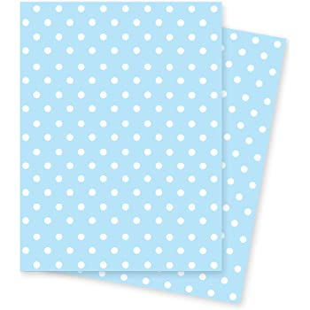 White Stars on Blue Wrapping Paper 70x50cm by Jonathan Glick Designs 2 Sheets of Gift Wrap Fathers Day Baby Boy Birthday