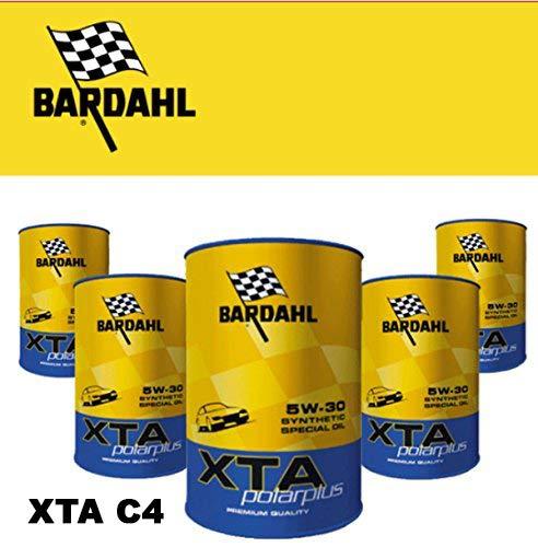 Bardahl Olio Motore XTA C4 5W30 RN0720 POLARPLUS Sintetico 5 Litri - 307040