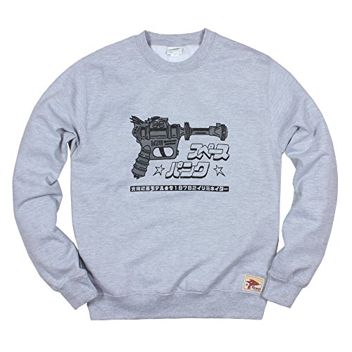 Strand Clothing Sudadera japonesa – Ray Gun camiseta impresa – Blaster Phaser Zap pistola láser retro kawaii