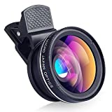 BlitzleProfessional 2-in-1 Cell Phone Clip on Camera Lens Kit
