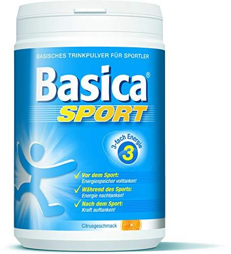 Basica Sport, basische Mineralgetränk für Leistung* und Regeneration** beim Sport, 660 g