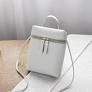 DIEBELLAU Women's Shoulder Bag New Small Square Bag Shoulder Diagonal Bag Fashion Change Mobile Phone Bag