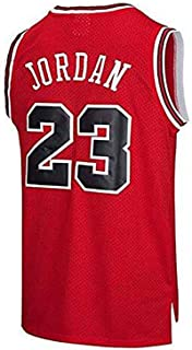 HEBZ Jersey de Hombre NBA Bulls # 23 Michael Jordan Malla