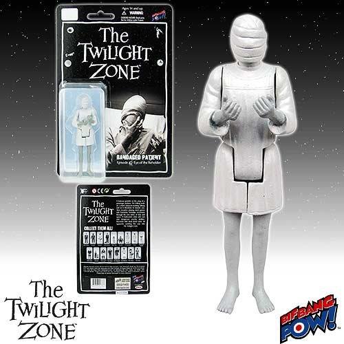 Bif Bang Pow! The Twilight Zone Bandage Patient 3 3/4-Inch Figure Series 2