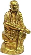 Sai Baba Idol in Brass / Sai Baba Statue / Hindu Religion God Sculpture
