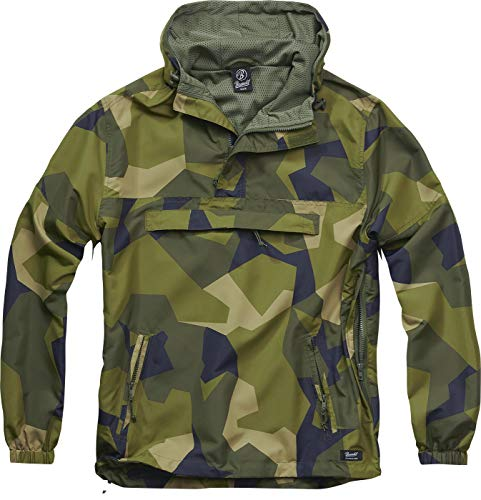 Brandit Light Windbreaker Männer Windbreaker digi camo L