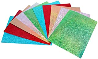 Holographic Card Sheets - Assorted Colours