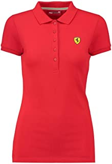 Scuderia Ferrari Formula 1 Women's Red Classic Polo F1