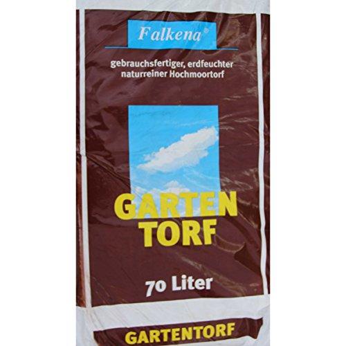 KUHLMANN Falkena Gartentorf ideale Humustorf für alle Gartenkulturen | 70 L