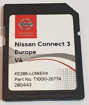 Scheda SD GPS Europe 2019 v4 - Nissan Connect 3 LCN2 - (Q1.2018)