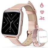Hommie Smart Watch for Women, Fitness Tracker Watch with Touch Screen, Sleep Tracker