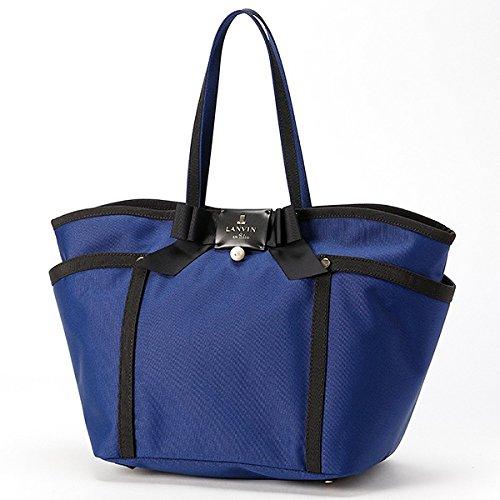 ランバンオンブルー(LANVIN en Bleu) ジュール 2WAYトートバッグ 便利なインナーポーチ付き【ネイビー/**】