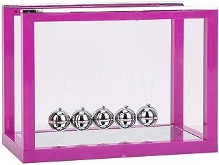Desk Balls Pendulum Newton Cradle, Practical Physics Toys, Pendulum Ball for Home for Office(purple)